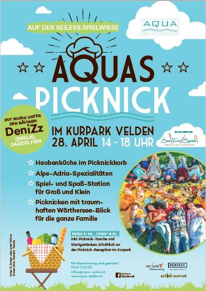 Aquas Picknick auf der Spiel-Wiese 28.04.2018, 14 – 18Uhr